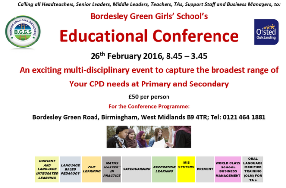 Conference at Bordesley Green